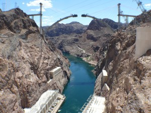 Hoover Dam - Bypass nearing completion in 2009
