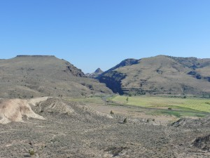 Part of John Day Fossil Beds National Monument